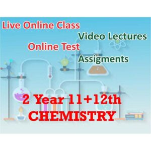 Online Live – 2 Year (11+12) Chemistry Course