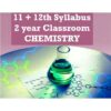 1112th 2year classroom chemistry