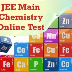 JEE Main Chemistry Online Test